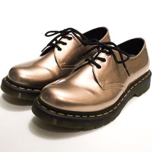 Dr. Martens 1461 Vegan Rose Gold